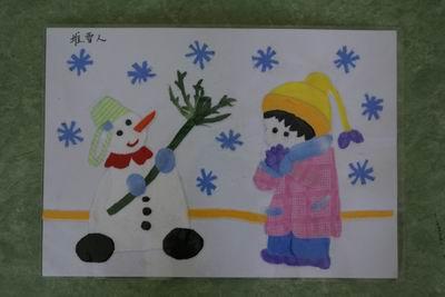学生作品 布贴画