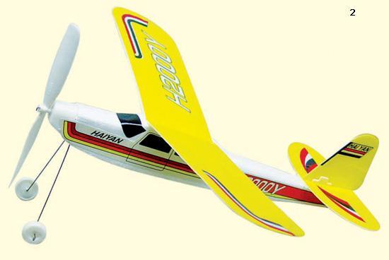 橡筋动力飞机,让儿童体验航模魅力