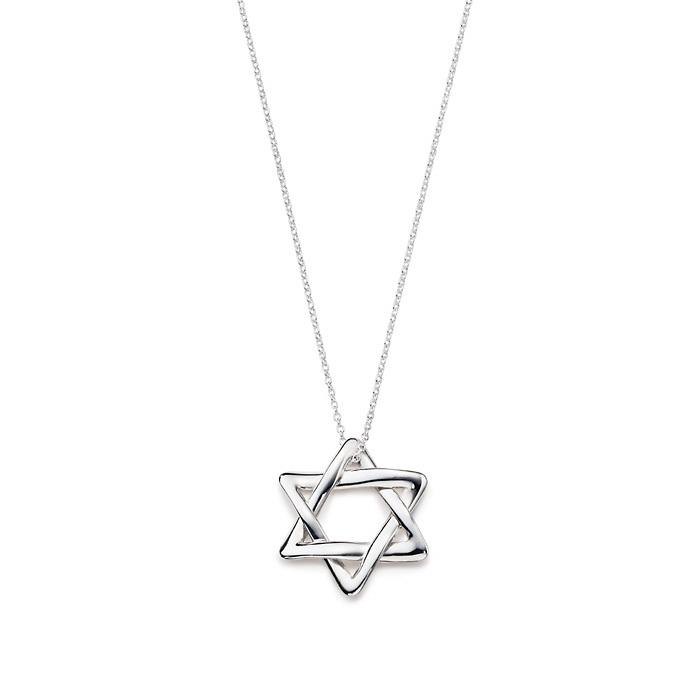 tiffany六角星项链
