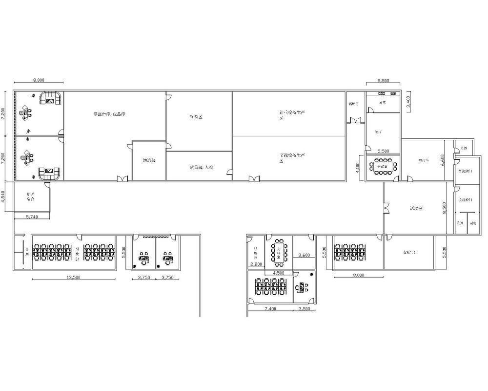饲料厂平面设计图_们工厂的平面图图片