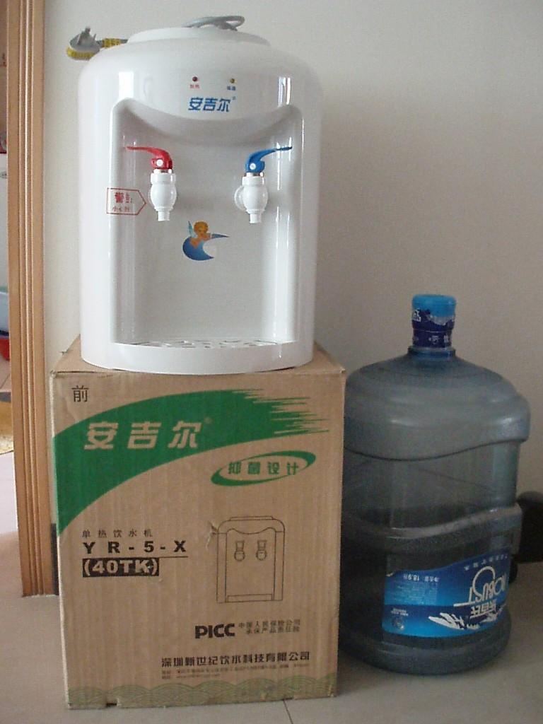 内付图片转让安吉尔饮水机+桶1个低价100元!