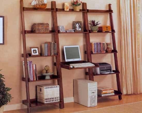 求家里要装修想直接挂在墙上的书架效果图不钉子怎么