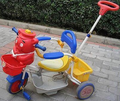 转让儿童三轮小推车