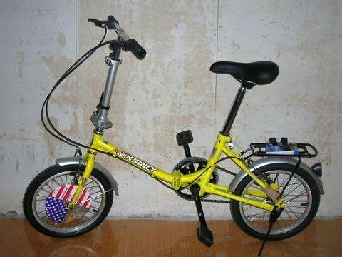 美国大行折叠自行车