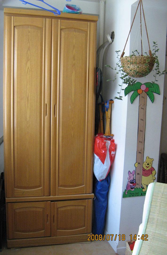 二门柜—最适合放在阳台上储物的柜子