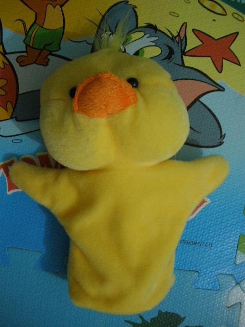 黄色小鸭玩具手偶(可爱的小伙伴)