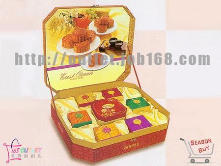 转让:鲍鱼月饼200元1盒,东海海鲜酒家—至尊月饼礼盒