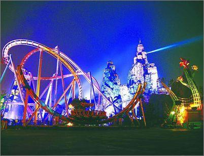 2014上海欢乐谷夜场_2015上海欢乐谷夜场情侣游玩攻略- 上海本地宝