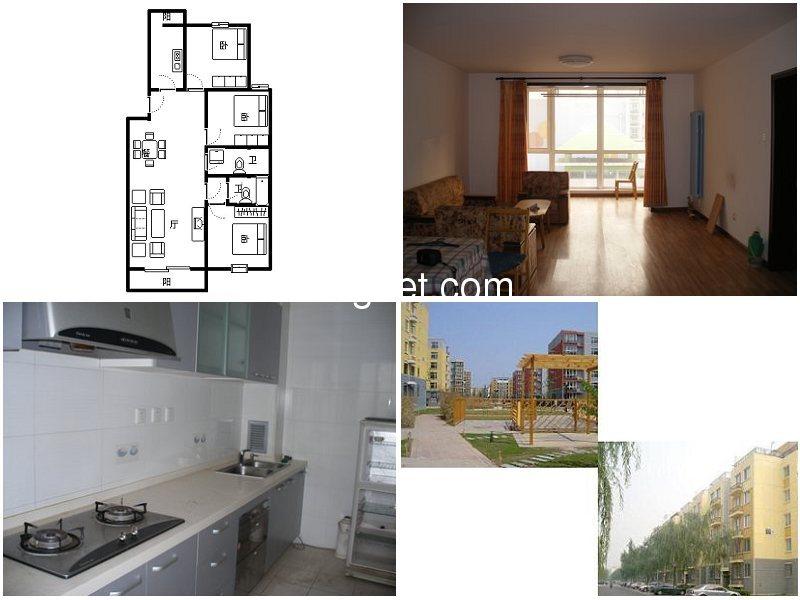 龙腾苑五区,130平米精装修大三居出售,房子户型,采光,楼层,位
