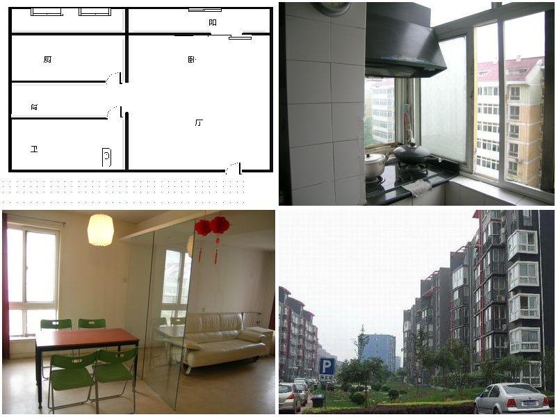 矩阵,54平米精装修一居室急售,房子户型采光都