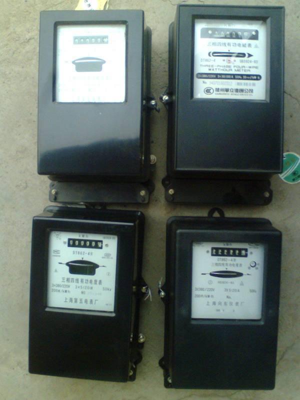 数控电表安装接线图
