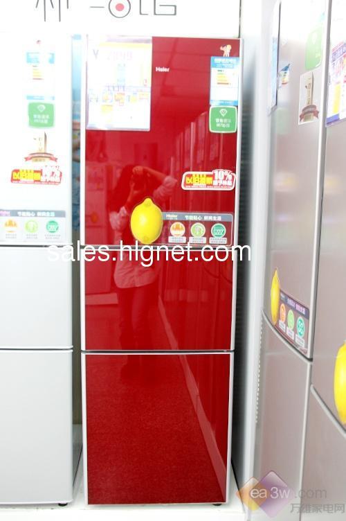 全新的海尔冰箱三开门低价转让