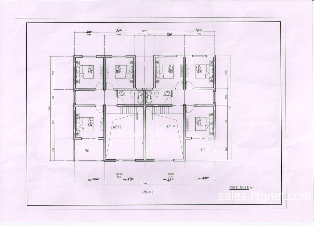 三层别墅平面设计图纸展示