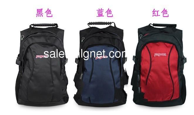 jansport/杰斯伯双肩包学生背包男士电脑包女士包包