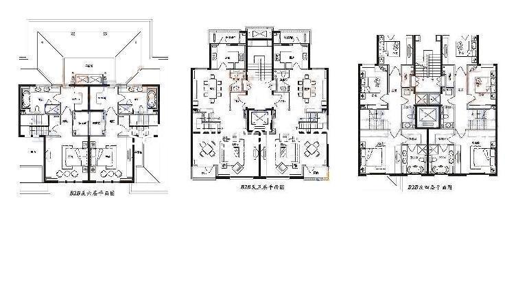 cad 房屋平面设计图展示