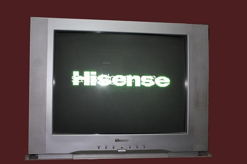 转让34英寸海信电视机一台