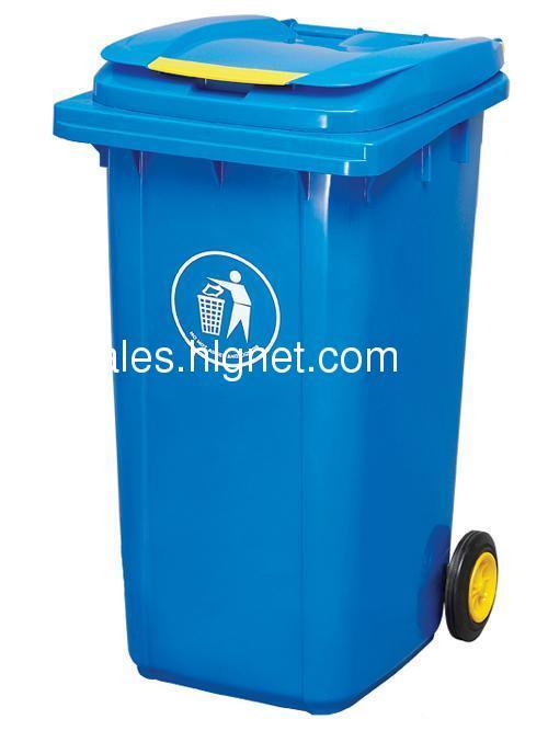 移动塑料垃圾桶,小区果皮箱