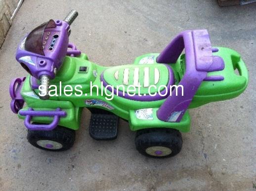 二手儿童电动车(东莞市智了堡儿童玩具公司),承重30公斤.