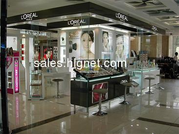 郑州高档品牌化妆品店装修设计
