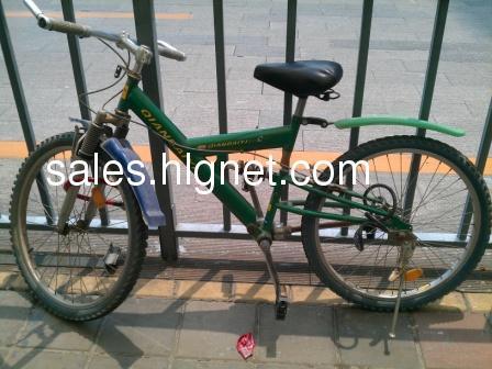 轴传动自行车,无需链条,不易损坏