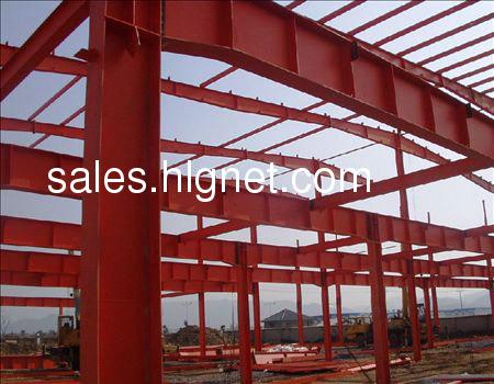 坡屋顶各种挑空夹层阁楼)钢结构加层