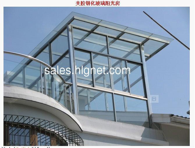 密封保温钢化玻璃 钢结构阳光房,北京阳光房 平顶阳光房 露台制作